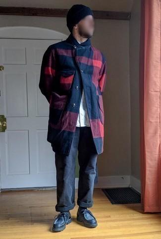 Мужские темно-серые джинсы от Lonsdale