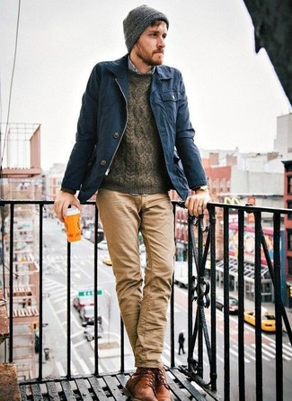 Светло-коричневые брюки чинос от Luhta