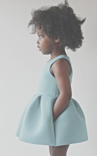 Как и с чем носить: мятное платье