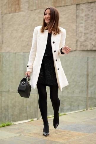 Черные кожаные туфли от Versace 19.69