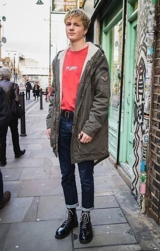 Мужские темно-синие джинсы от Top Secret