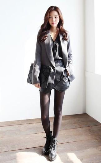 Черная блузка с длинным рукавом от Sonia Rykiel