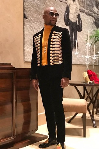 пиджак водолазка классические брюки large 27668