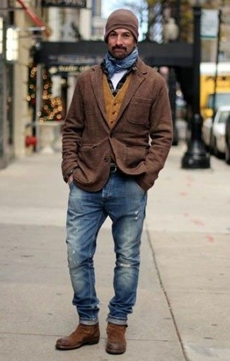 Мужская коричневая шапка от Goorin Brothers