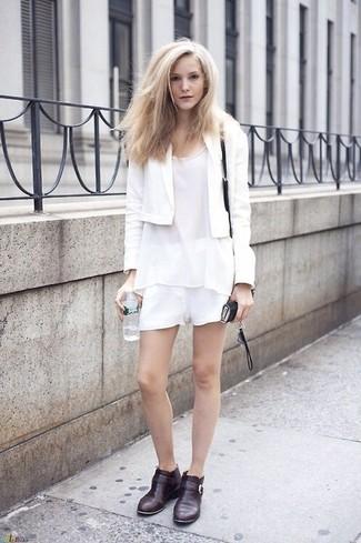 Белые шорты от Mango