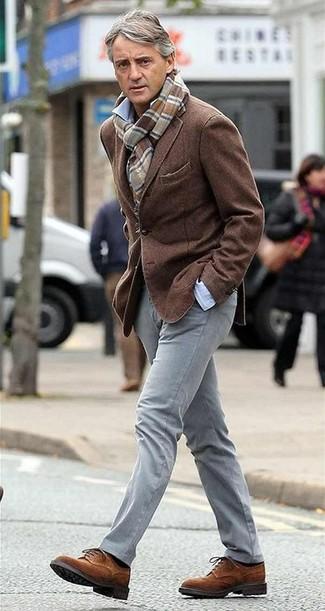 пиджак рубашка с длинным рукавом брюки чинос large 13660