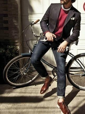 Мужские темно-синие джинсы от Burton Menswear London