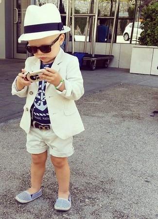 Детские синие кеды для мальчиков от Stella McCartney