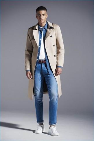 Мужские синие джинсы от Boss Orange
