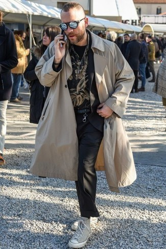 Мужской черный кожаный ремень от Fendi
