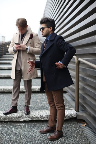 Мужской черный галстук от Burton Menswear London
