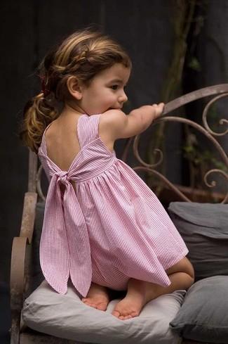 Как и с чем носить: розовое платье