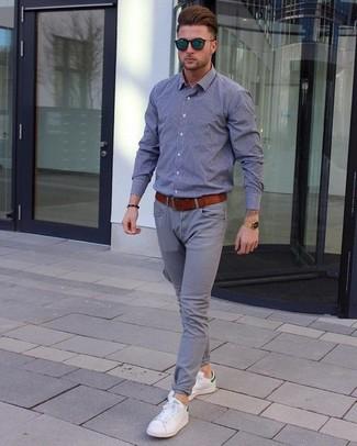 Серые брюки чинос от Only & Sons