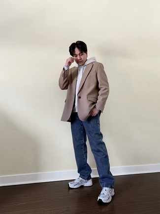 Мужской серый худи от Topman