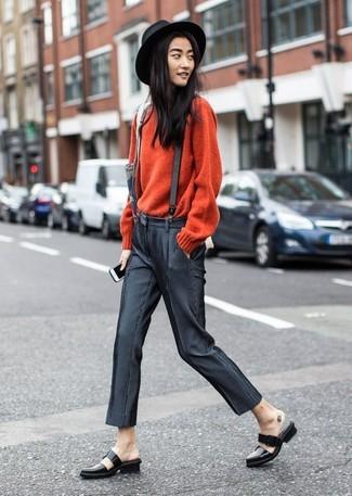87c9de5710e С чем носить подтяжки женщине  Модные луки (17 фото)