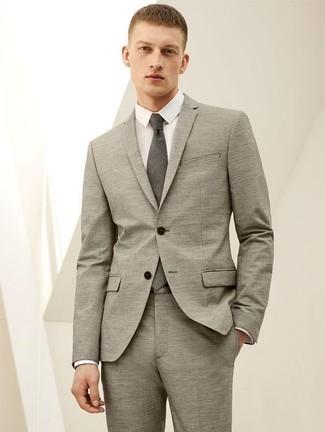 Мужская белая классическая рубашка от Lanvin