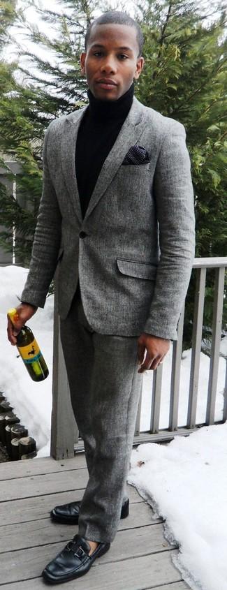 Мужская темно-синяя водолазка от Scotch&Soda