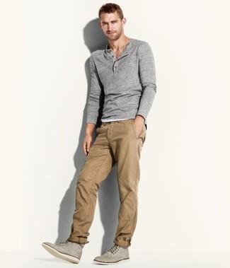 Светло-коричневые брюки чинос от Columbia