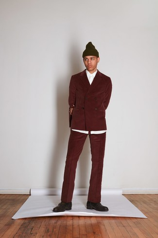 Мужская оливковая шапка от Goorin Brothers
