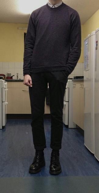 Мужская серая рубашка с коротким рукавом от s.Oliver