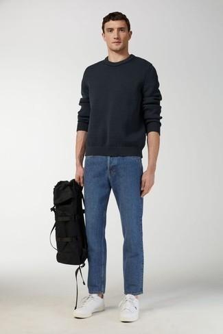 Мужские синие джинсы от H.I.S