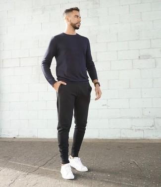 Мужские темно-серые спортивные штаны от Jack & Jones