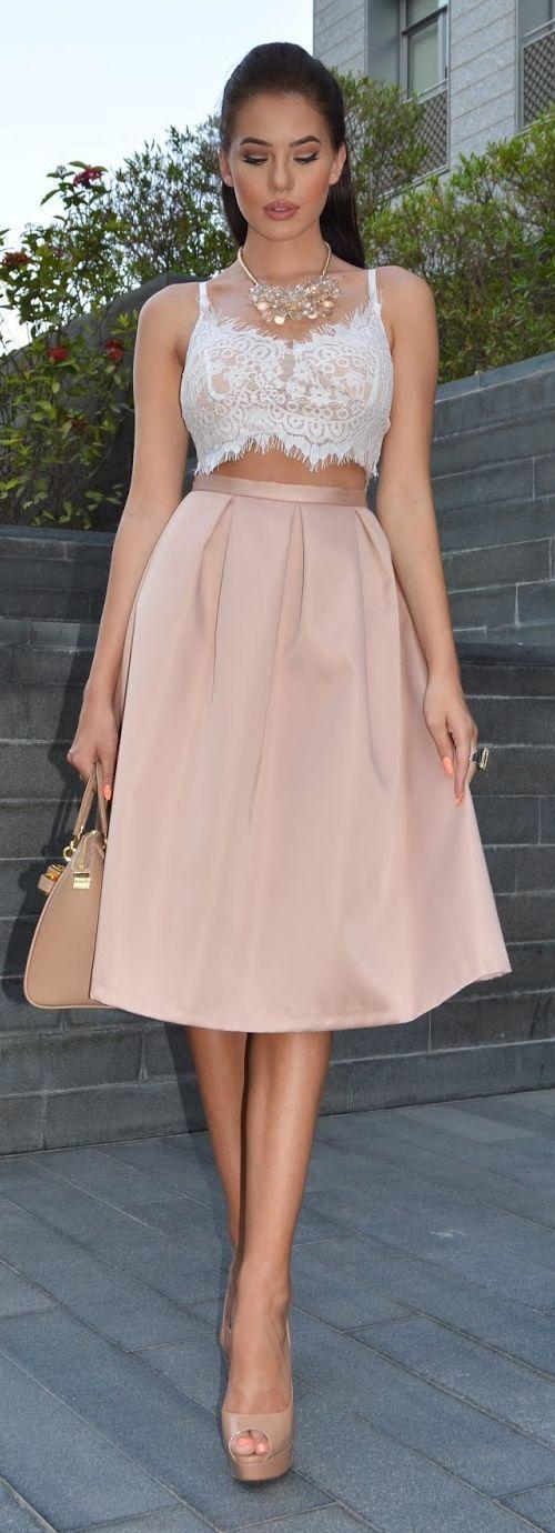 Пышные юбки с топиком