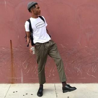 Мужская темно-серая шапка от Nike