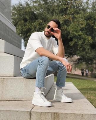 Мужские белые носки от Puma