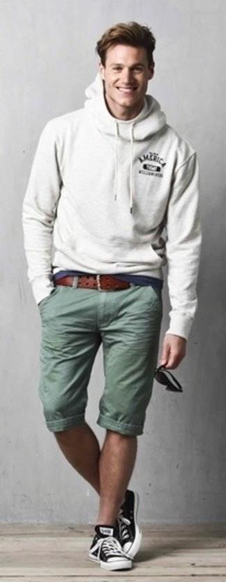 Мужской серый худи от Jack & Jones