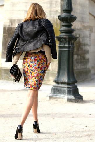 Черные кожаные туфли от Sweet Shoes