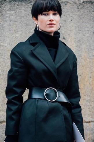 Женская черная водолазка от Dorothy Perkins