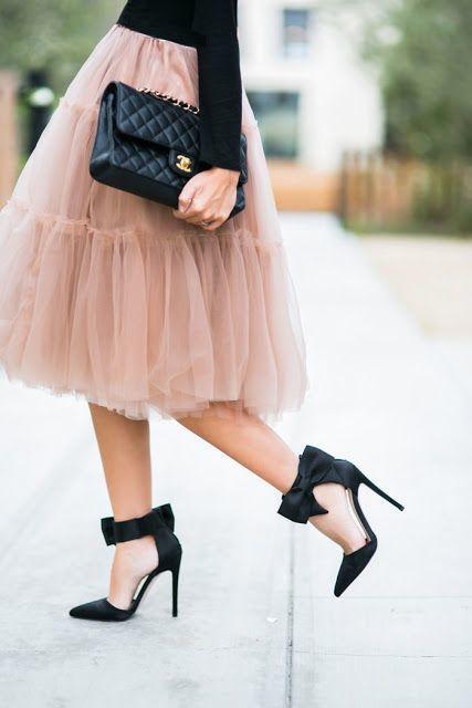 Круглые пышные юбки