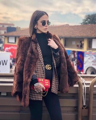 Женский черный кожаный ремень от Moschino